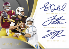 2018 Panini Immaculate Collegiate Football Hobby Box Serial Number Break ID 18IMMACFBCOLL106