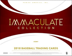 PICK YOUR TEAM: ANGELS BONUS RANDOM 2018 Panini Immaculate Baseball Hobby Box ID 18IMMACBASE117