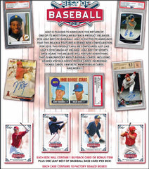 2018 Leaf Best of Baseball ID 18LEAFBESTBB108