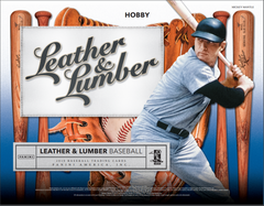 PICK YOUR TEAM: 2019 Panini Leather and Lumber Baseball Hobby Box (BLUE JAYS & YANKEES RANDOM BONUS) ID PLLUMBPYT106