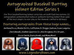 PICK YOUR TEAM: 2018 LEGENDARY (LMB) FULL SIZE BASEBALL BATTING HELMET ID 18LMBPYTBATHELM154