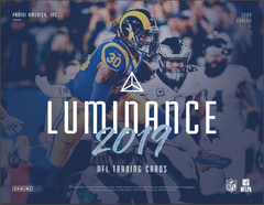 PICK YOUR TEAM: 2019 Panini Luminance Football Hobby Box (CARDINALS BONUS RANDOM) ID 19LUMFBPYT205