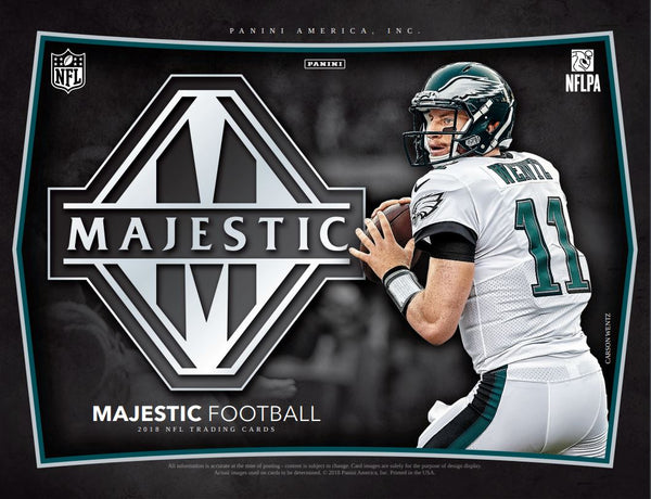 2018 Panini Majestic Football, $10,75 PER TEAM, all teams in, ID 18MAJESTICFB102