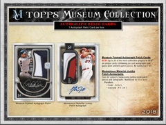 2018 Topps Museum Collection Baseball Hobby Box RANDOM TEAMS (26 TOTAL SPOTS) ID 18TOPSMUSBBRT622