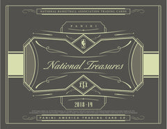 LOOSE BOX: 2018_19 Panini National Treasures Basketball Hobby ID 1819PERSONALNTBB331