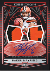 PICK YOUR TEAM: 2018 Panini Obsidian Football Hobby Box (BROWNS AND GIANTS BONUS RANDOM) ID OBSPYT121