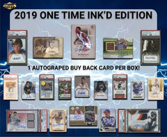 2019 Super Break One Time Inkd Edition Box ID 19ONETIMEINK124
