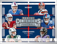 LOOSE BOX PICK YOUR TEAM: 2018 Panini Contenders Football Hobby Box (BROWNS AND GIANTS BONUS RANDOM) ID 18PANCONTPYT122