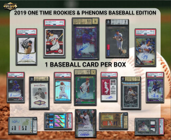 2019 Super Break Baseball Rookies & Phenoms ID ROOKPHEN111