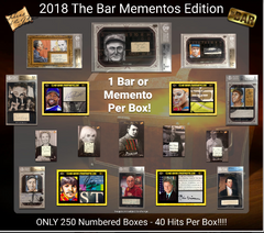 EVERYONE GETS 2 HITS!! 2018 The Bar Mementos Edition ID 18SUPBRKMEMRHB201