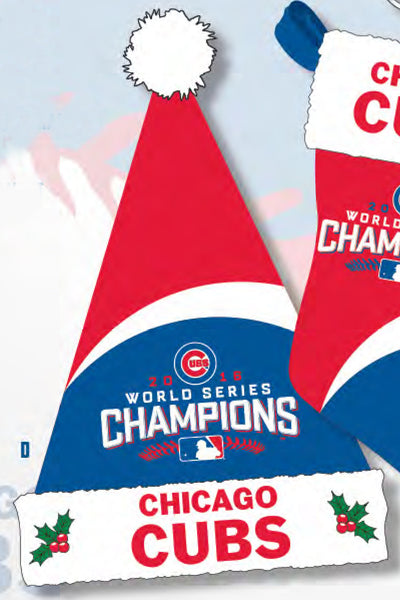 Cubs World Series Champ Santa Hat ($24.99)