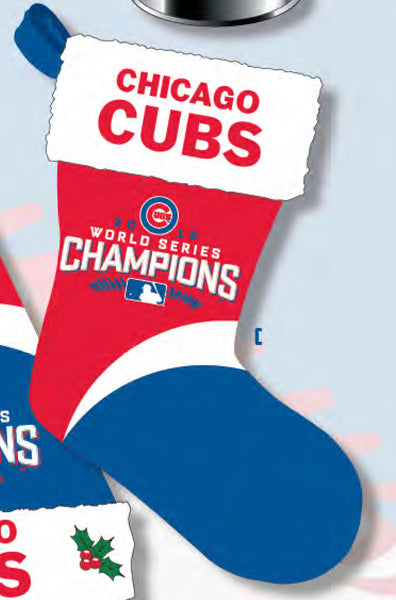 Cubs World Series Champ Stocking ($24.99)