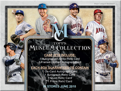 PICK YOUR TEAM BREAK: 2018 Topps Museum Collection Baseball Hobby Box Angels And Yankees Random Bonus ID 18TOPSMBBPYT745