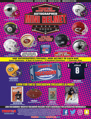 2018 Tristar Series 2 Football Mini Helmet Box ID 18TRIMINIHELM349