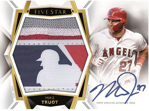 RANDOM TEAMS: 2019 Topps Five Star Baseball ID 19FIVESTARBB981