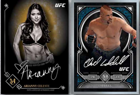 2017 Topps UFC Museum Collection Hobby Box (21 Total Spots. $7.25 For 5 Checklist Names) ID 17TUFCMC203
