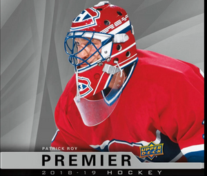 RANDOM TEAMS: 2018/19 Upper Deck Premier Hockey Hobby Box ID 1819UDPREMHOCKEY0102