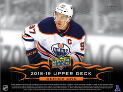2018 19 Upper Deck Series 1 Hockey Hobby Box ID 1UDHOCKS1RT104