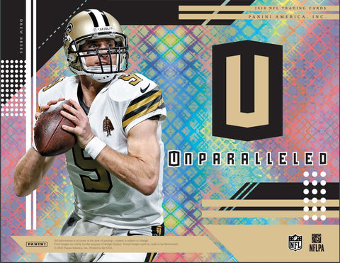 RANDOM TEAMS: 2018 Panini Unparalleled Football ID 18UNPARA105