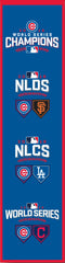 "2016 World Series Chicago Cubs ""Road To The World Series"" Heritage Banner ($39.99)"