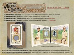 2018 Topps Allen & Ginter ($5.75 per team, all teams in, all cards ship) ID 18ALLENGINTER104