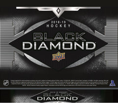 Loose Box 2018_19 Upper Deck Black Diamond Hockey Hobby ID 18BLACKDIA422