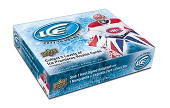 2017/18 Upper Deck Ice Hockey Hobby Box ($5.50 PER TEAM, all teams in) ID 1718ICEHOCK101