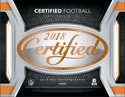 Bonus Chat Room Random: 2018 Panini Certified Football all teams in, all cards ship ID 18CERTFB109