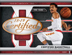 2 TEAM RANDOM: 2018 2019 Panini Certified Basketball Hobby Box ID 1819PANCERTBSK102