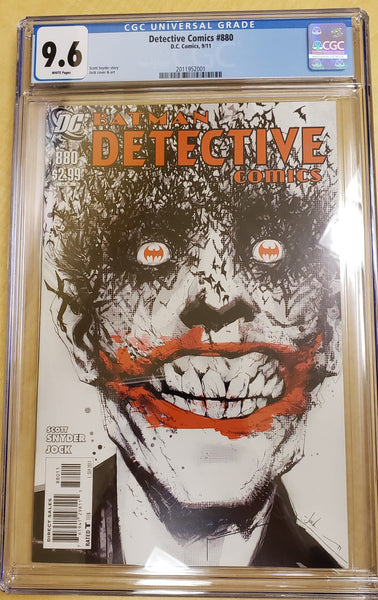 Detective Comics 880 CGC 9.6 White Pages
