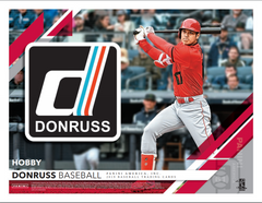 PACK RIP PICK YOUR OWN PACK NUMBER: 2019 Panini Donruss Baseball Hobby Box ID 19DONRUBBASB101