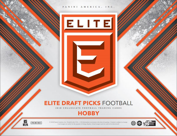2018 Panini Elite Draft Football Hobby, $6.75 PER 3 TEAMS, 24 SPOTS, 72 TOTAL TEAMS ID 18ELITEDRAFT113