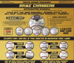 FRIENDLY 3 SPOT BONUS! 2019 Tristar Game Changers Autograph Baseball ID 19GAMECHANGER515