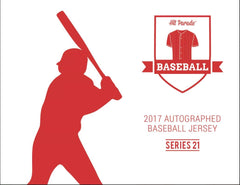 2017 Hit Parade Autographed Baseball Jersey Hobby Box - Series 21 - Rookie of the Year ($6.99 PER TEAM, all teams in) ID HPBASEBALLROYJERS109