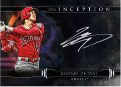 2019 Topps Inception Baseball Hobby Box (Angels And Yankees Bonus Random) ID 19IBASBPYT124
