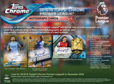 PACK RIP: PICK YOUR OWN PACK NUMBER: 2018_19 Topps Chrome Premier League Soccer ID PREMIERSOC101