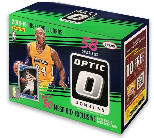 201819 Donruss Optic Basketball Megabox Retail ID 1819OPTICBASKRET101