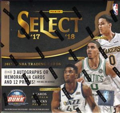 COMING SOON: 2017/18 Panini Select Basketball Hobby Box Random Team (7.99 Per Team ALL CARDS SHIP) ID 18SELECTBBRT105
