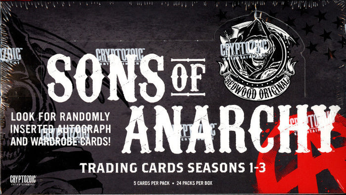 Sons Of Anarchy Seasons 1-3 (Cryptozoic) - Box 8 ($5.25 per pack) PACK DESIGNATION BREAK