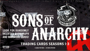 Sons Of Anarchy Seasons 1-3 (Cryptozoic) - Box 9 ($5.25 per pack) PACK DESIGNATION BREAK