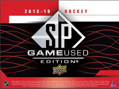 Loose Box: 2018_19 Upper Deck SP Game Used Hockey ID 1819SPGU101
