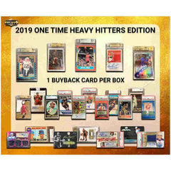 2019 Super Break One Time Heavy Hitters Edition Box ID 19HEAVY105