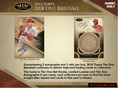 LOOSE BOX: 2019 Topps Tier One Baseball ID 19TIERONE211