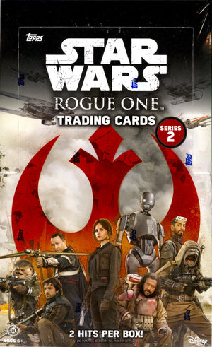 Coming Soon: PACK DESIGNATION BREAK: 2017 Star Wars Rogue One series 2 ($7.50 per pack, 24 packs) ID ROGUEONE102