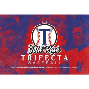 2019 Gold Rush Trifecta Baseball ID 19TRIFECTABB201