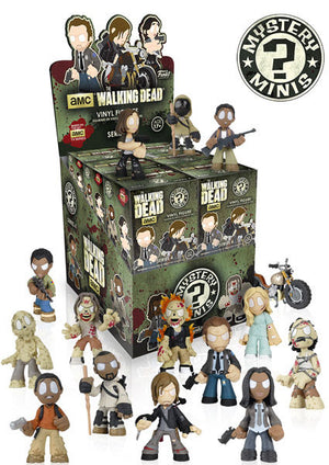 2016 Funko Walking Dead Mystery mini SERIES 4 ($1.50 per character, 14 total spots) ID DEADSER407