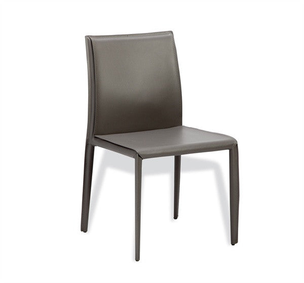 Low Back Dining Chair S/2 - Gray