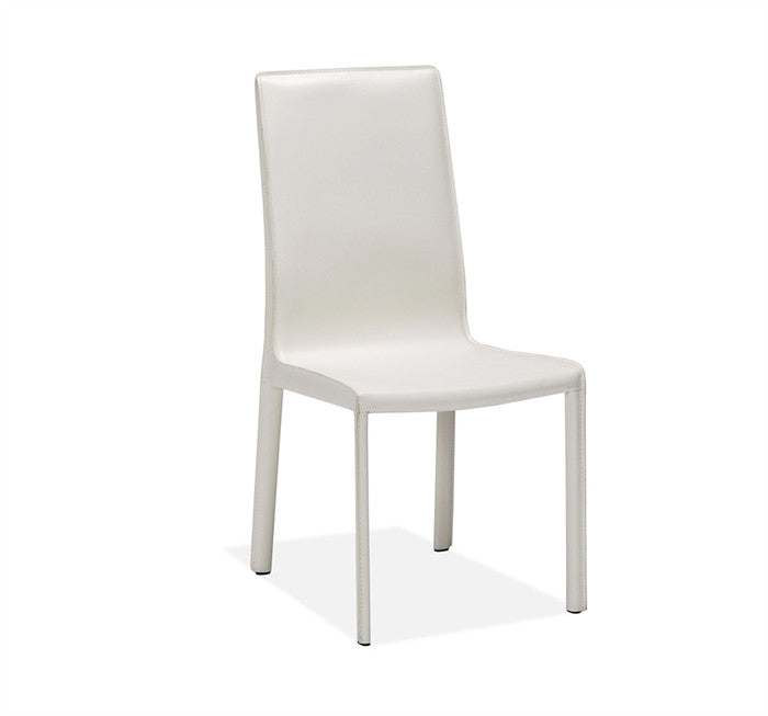 Jada High Back Dining Chair- White