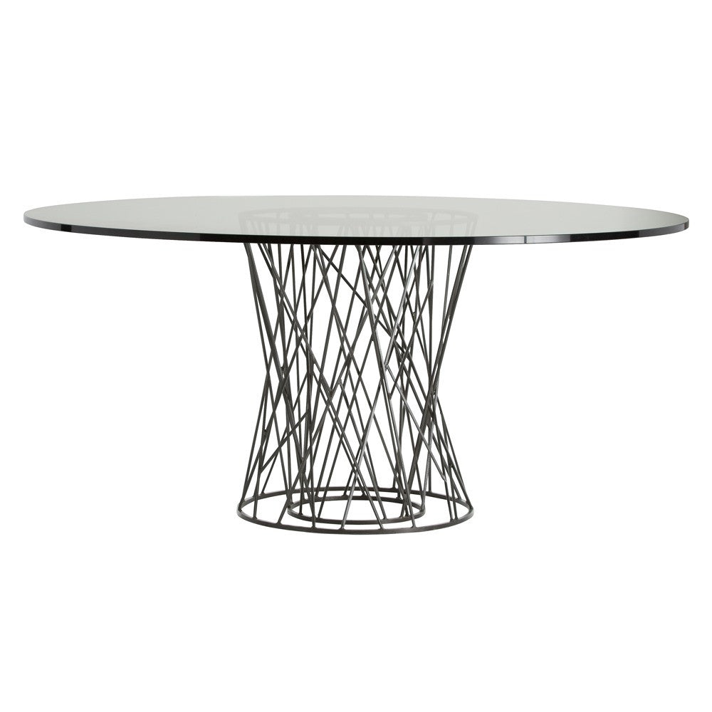 "Rawlins 66""Dia Dining Table - Grats Decor Interior Design & Build Inc."
