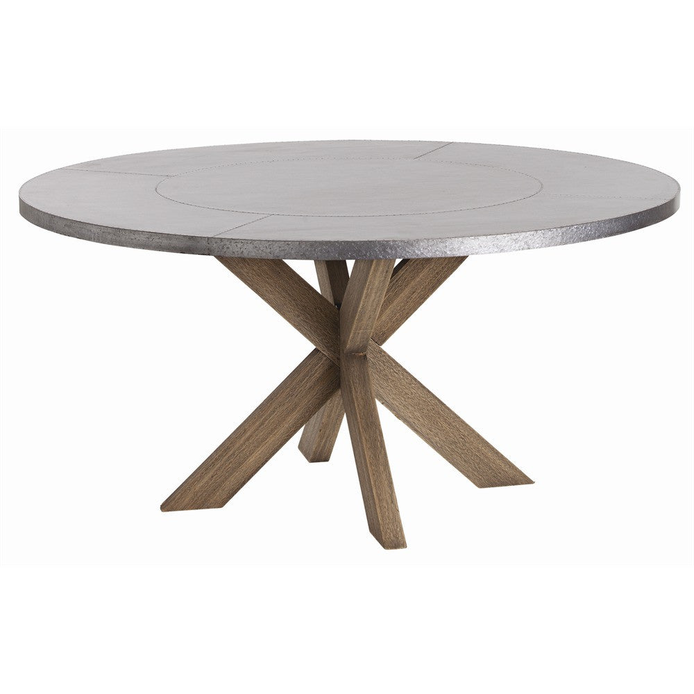 "Halton 60""Dia Dining Table - Grats Decor Interior Design & Build Inc."